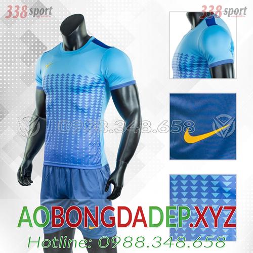 Áo Nike Aro 2019 Màu Xanh Nhạt Đẹp