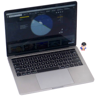 MacBook Pro Touch Bar 13-inch Core i5 2017 Bekas