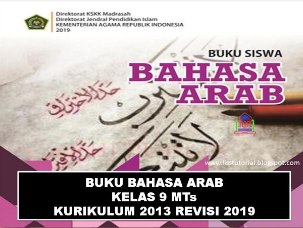 Download Buku Bahasa Arab Kelas 9 MTs Kurikulum 2013 Edisi Revisi 2019