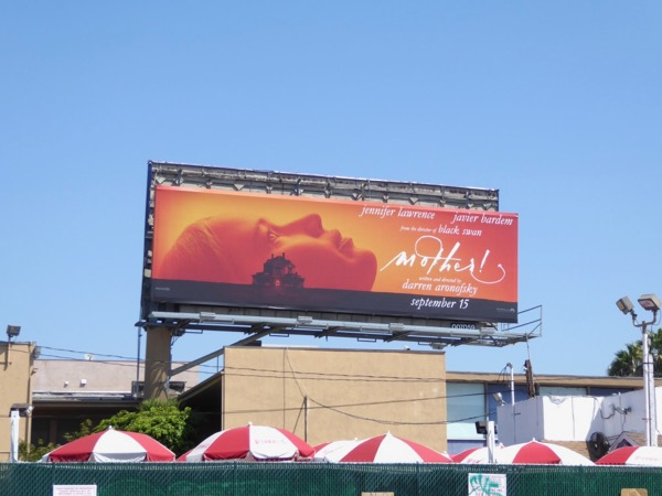 Mother movie billboard