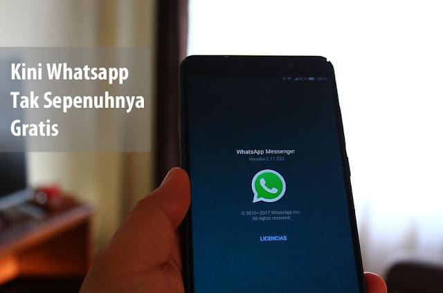 Whatsapp Berbayar Rp 14.000 vs Whatsapp Gratis Dengan Iklan