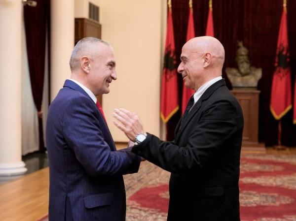 Italian Interior Minister Marco Minniti met Albanian President