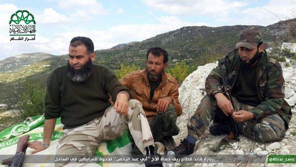 Ahrar al-Sham utara Hama