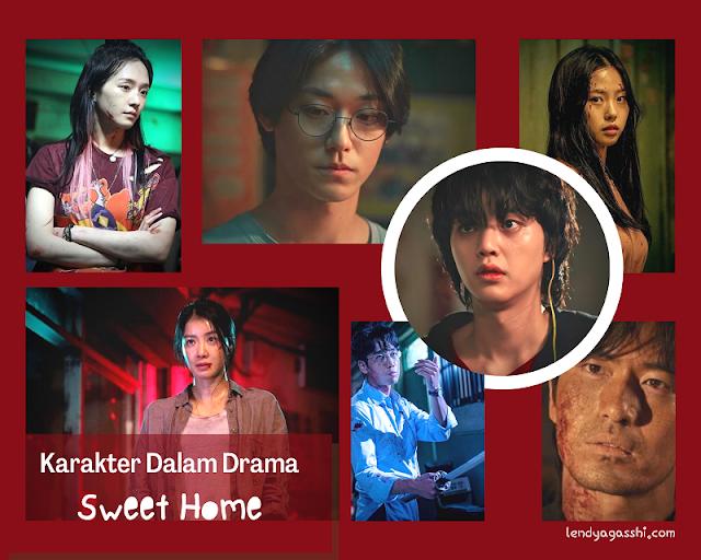 Karakter Pemain Drama Sweet Home : Review Drama Sweet Home
