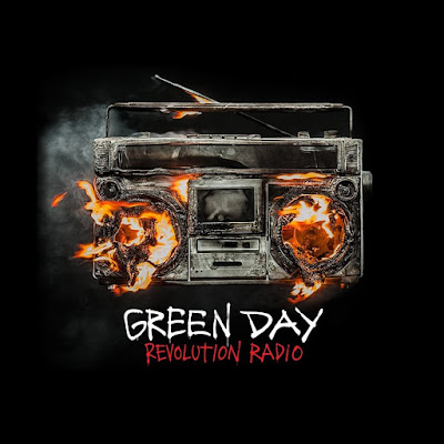 Green Day score 3rd UK Number 1 Album with 'Revolution Radio'