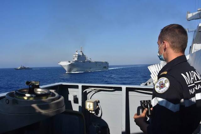 Turki Yunani Siap Perang, TNI dan Jerman Patroli di Mediterania
