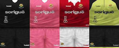 PES 6 Kits Gimnàstic de Tarragona Season 2018/2019 by VillaPilla