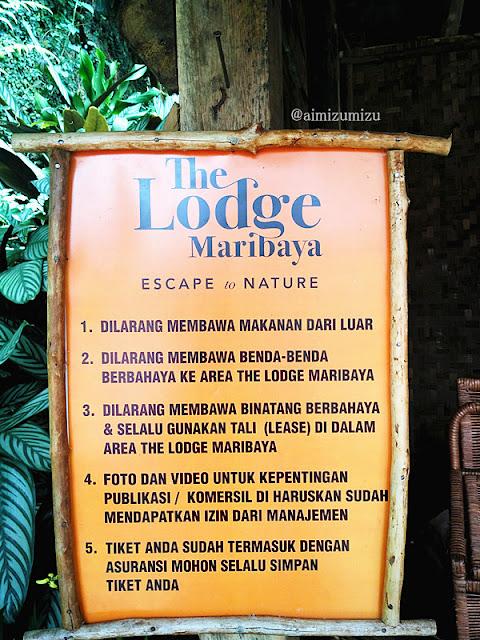 suasana The Lodge Maribaya