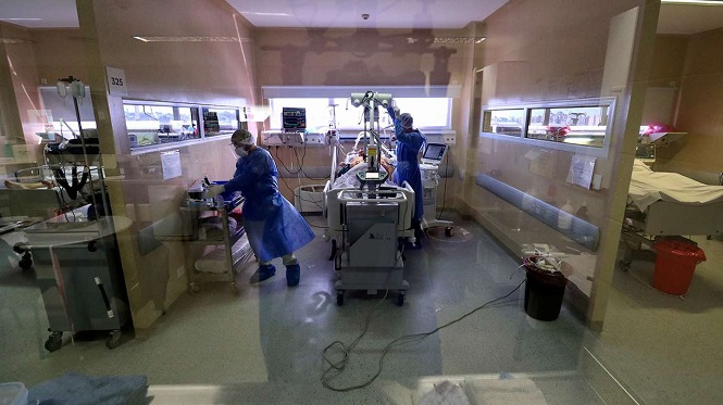 Coronavirus en la Argentina: Hoy se registraron 32.171 nuevos casos y 297 muertes