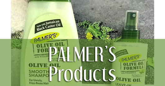 Palmer's Product Review for the month of October 2017