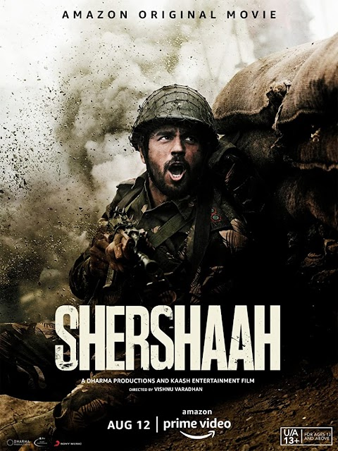 Shershaah (2021) HDRip Hindi AMZN ESub Movie Download