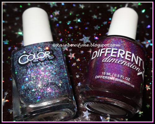 Color Club: Pinky Swear & Different Dimension: Professor Plum In The Conservatory