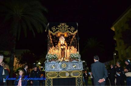 La Banda del Liceo de Córdoba se compromete con la Hermandad Virgen de Los Dolores de La Carlota de cara a la próxima Semana Santa