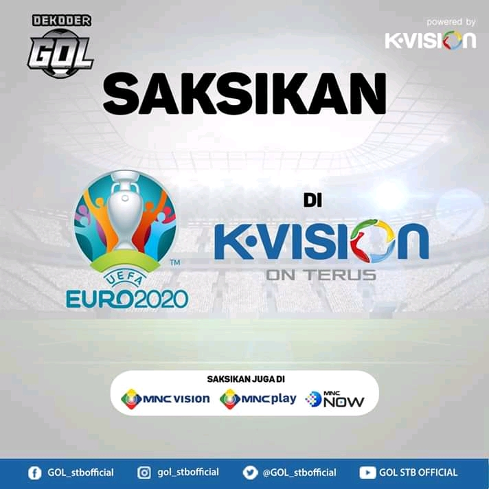 resmi uefa euro 2020 di kvision