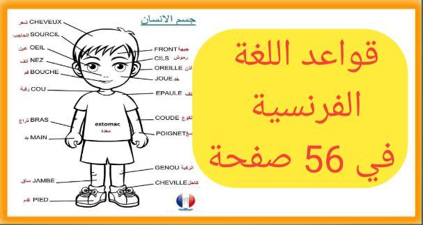 قواعد تعلم اللغة الفرنسية