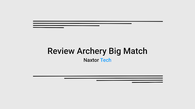 review archery big match