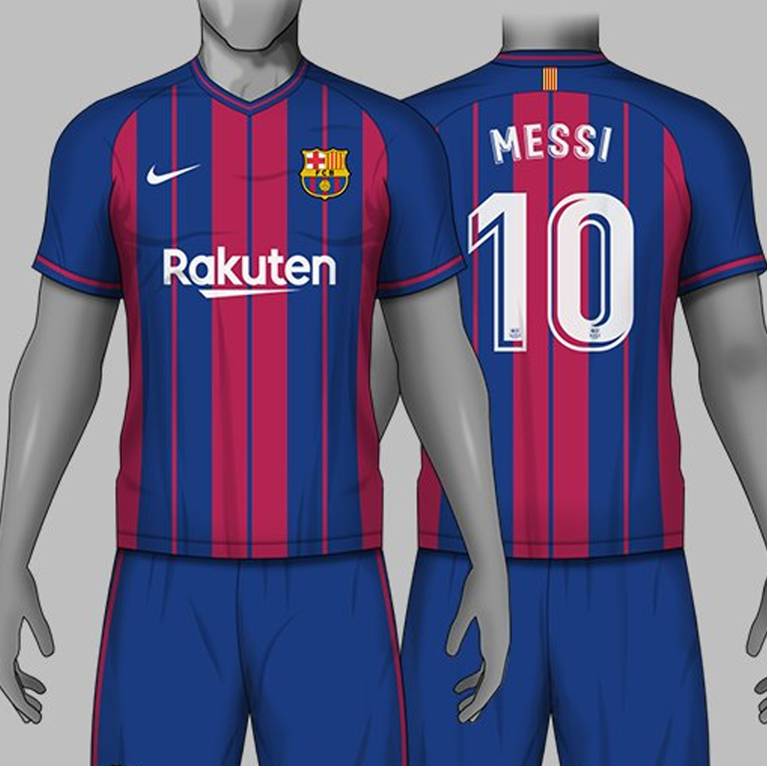 286ba974abb 3 Amazing Nike FC Barcelona Home Kit Concepts By Carrino - Footy ...
