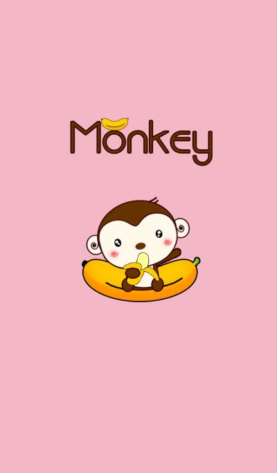 Monkey Love Bananas