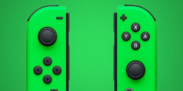 Kit de Joy-Cons da cor Neon Green será lançado em 27 de outubro