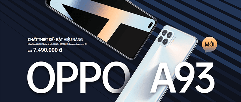 OPPO A93 with Helio P95 chip and 6 cameras announced!