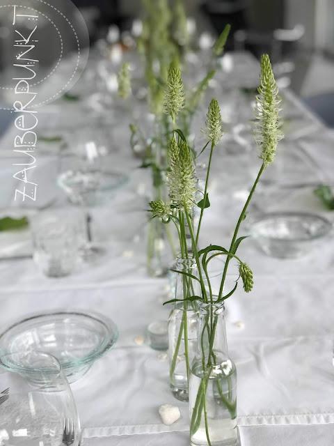 Tischdekoration Frühling, Frühling, Rapunzel, Teufelskralle, Tablesetting, Springtime, Homesweethome, Daheim ist es am schönsten, Gemütlich,