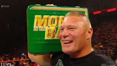 WWE MITB Paul Heyman BROCK LESNAR Kofi Kingston