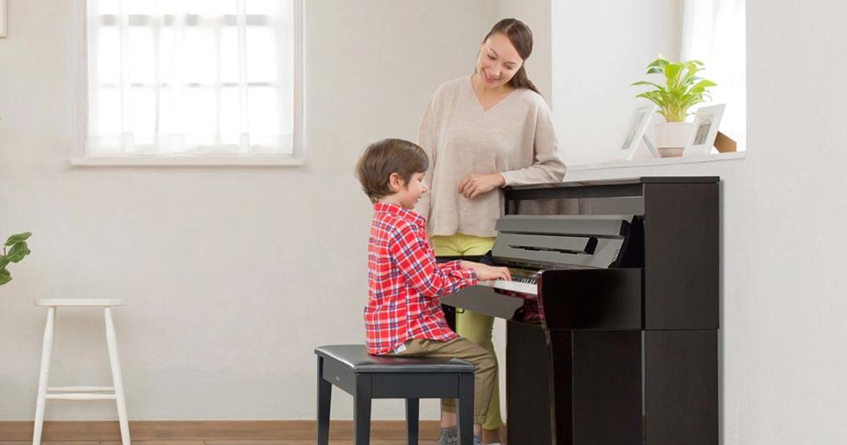 Piano Yamaha - Đồng hành cùng sự phát triển của bé