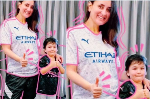 Kareena-kapoor-Khan-shared-a-smiling-pic-with-Son-Taimur-Ali-Khan