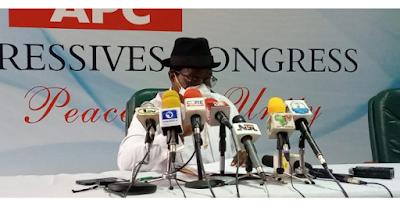 'I'm The Acting APC National Chairman' — Giadom Writes INEC