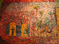 Israel, Travel, Tel Aviv, Art, Mosaic