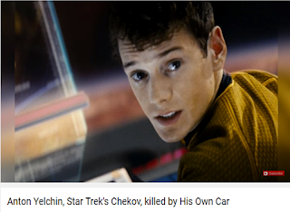 Anton Yelchin Dies Of Car Accident