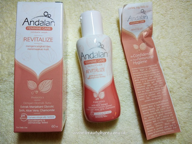 Andalan Feminine Care Intimate Wash Revitalize
