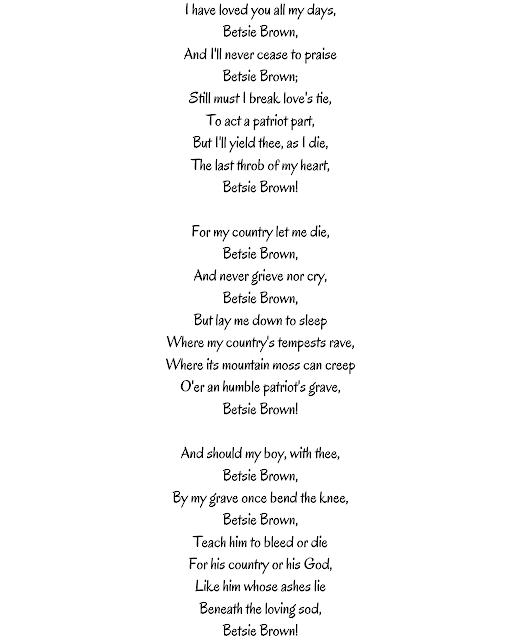 A H Laidlaw poem