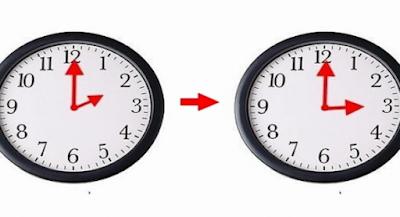 الرجوع إلى الساعة غير القانوية  GMT +1