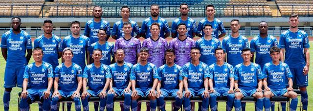 Skuat Persib Bandung Liga 1 2020