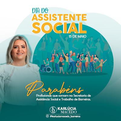 Secretaria de promoção Social homenageia o dia do Assistente Social