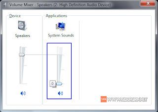 Cara Menghilangkan Suara Beep Beep di Windows 7 dan 10