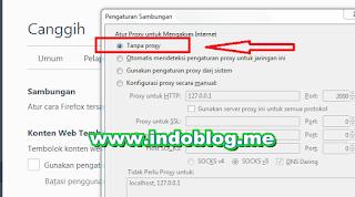 Cara Setting Browser Mozilla Firefox