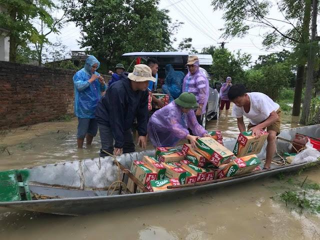 Toàn cảnh lũ lụt tại Ninh Bình và hoạt động cứu trợ tại Thanh Hoá - Ảnh minh hoạ 17
