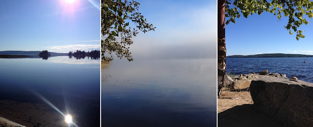 kesä, järvi, luonto