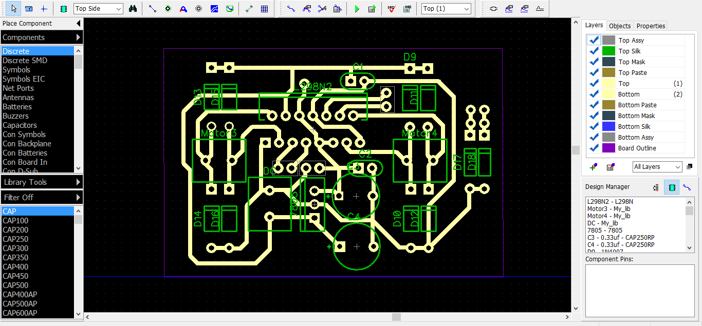 The Electro Bugs Pcb Designing Figure 2 Schematic View In Eagle Software A To Our Layout On Diptrace Can Be Seen Below