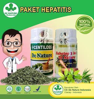 Obat Hepatitis B  dari bahan herbal produk de nature