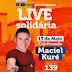 Maciel kuré é a primeira atração anunciada na Live Solidária da Pedra