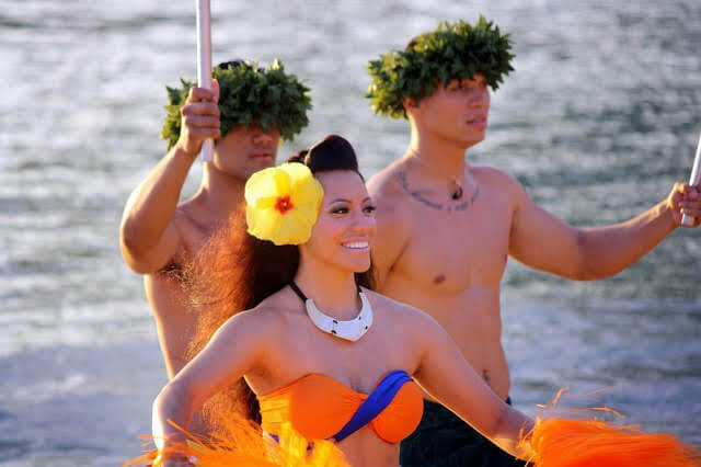 Polynesian dance show in Hawaii