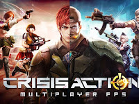 Crisis Action-Best Free FPS MOD APK + Data OBB v2.0 Terbaru for Android