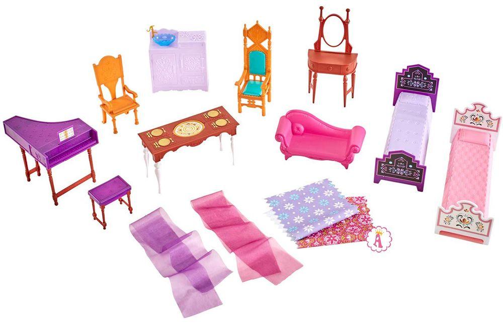 Какая мебель в наборе Замок Арендель или Disney Frozen II Castle