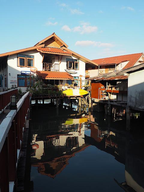 Таиланд, остров Чанг, пирс Банг Бао (Thailand, Koh Chang, Bang Bao pier)
