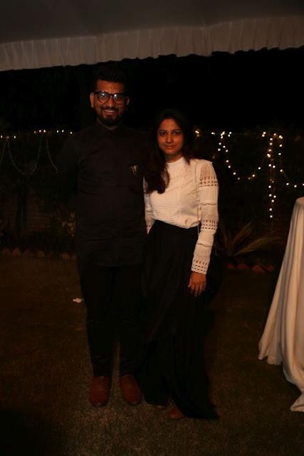 (L-R) Jigar Mali, Megha Kumari
