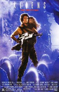 Cartel original de Aliens: El regreso