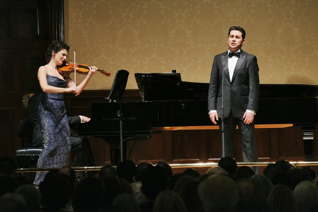 Alda Disdari and Saimir Pirgu at the Wigmore Hall - picture credit Jonathan Rose